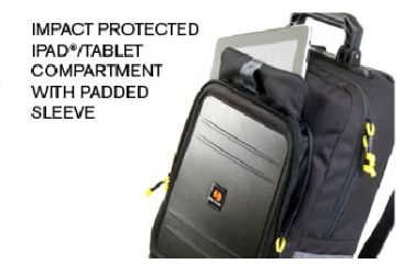 Pelican U145, tablet Backpack, Compartment OU1450-0003-110