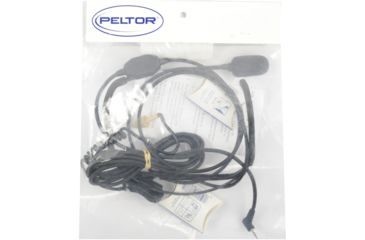 Peltor wCommPlug 2-way Hearplug Headset Connector - MT21HTM06