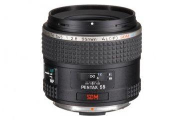 Pentax 645D FA 55mm F2.8 Lens, Black 26350