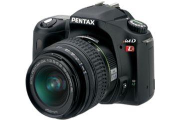 Pentax *ist DL 6.1 MP Digital SLR Camera Kit with 18-55 Lens and Hood 18428