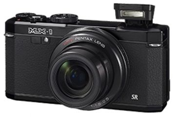 Pentax MX-1 Compact Digital Camera, Black 12622