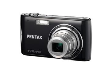Pentax Optio P-80 Digital Camera, Black 17851