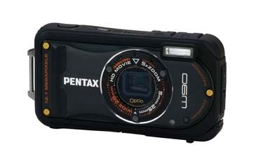 Pentax Optio W90 Water Proof Compact Digital Camera, Black 16411