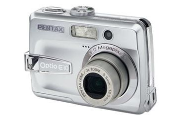 Pentax Optio E10 Digital Camera Cheap 6 Megapixel