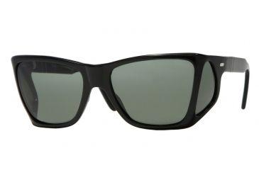 a6648fa970a Persol PO0009 Sunglasses 95 31-57 - Black Frame
