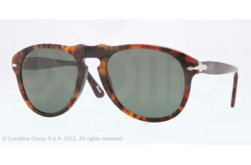 Persol PO0649 Bifocal Prescription Sunglasses PO0649-108-58-52 - Lens Diameter 52 mm, Frame Color Caffe'