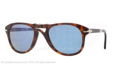 Persol PO0714SM Progressive Prescription Sunglasses PO0714SM-24-56-52 - Lens Diameter 52 mm, Frame Color Havana
