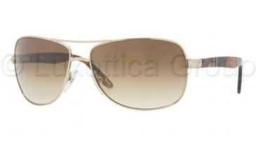 Persol PO2364S Single Vision Prescription Sunglasses PO2364S-905-51-6314 - Lens Diameter: 63 mm, Frame Color: Light Gold