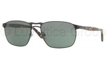 Persol PO2380S Sunglasses 961/31-5718 - Matte Black Crystal Green