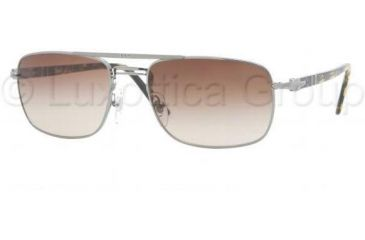 Persol PO2387S Sunglasses 960/51-5519 - Gunmetal Crystal Brown Gradient