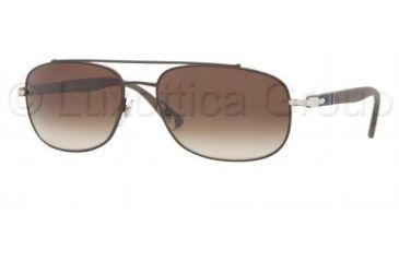 Persol PO2405S Single Vision Prescription Sunglasses PO2405S-102051-5917 - Lens Diameter 59 mm, Frame Color Matte Brown