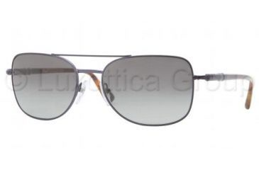 Persol PO2420S Single Vision Prescription Sunglasses PO2420S-104471-5818 - Lens Diameter 58 mm, Frame Color Matte Night Blue