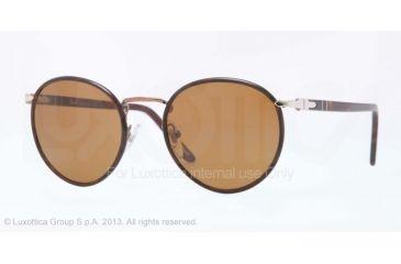 Persol PO2422SJ Progressive Prescription Sunglasses PO2422SJ-105933-49 - Lens Diameter 49 mm, Frame Color Brown