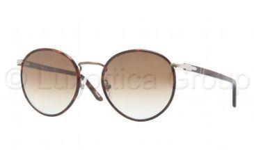 Persol PO2422SJ Progressive Prescription Sunglasses PO2422SJ-992-51-4920 - Lens Diameter 49 mm, Frame Color Matte Brown