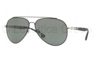 Persol PO2424S Bifocal Prescription Sunglasses PO2424S-102231-5913 - Lens Diameter 59 mm, Frame Color Shiny Black