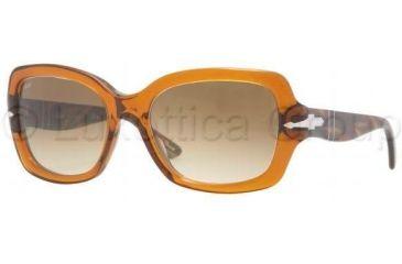Persol PO2949S Sunglasses 887/51-5517 - Dark Honey Crystal Brown Gradient