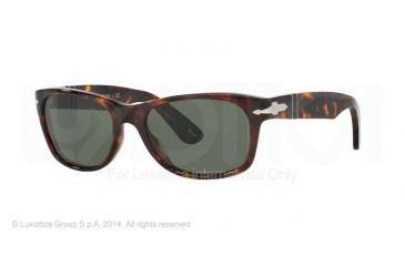 Persol PO2953S Prescription Sunglasses PO2953S-24-31-56 - Lens Diameter 56 mm, Frame Color Havana