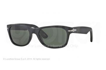 Persol PO2953S Prescription Sunglasses PO2953S-900-31-53 - Lens Diameter 53 mm, Frame Color Matte Black