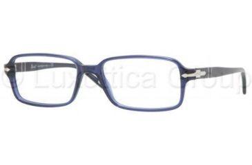 Persol PO2959V Single Vision Prescription Eyewear 181-5516 - Blue