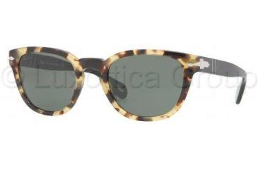 Persol PO2961S Bifocal Prescription Sunglasses PO2961S-811-31-5121 - Lens Diameter: 51 mm, Frame Color: Light Havana