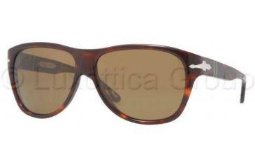 Persol PO2962S Progressive Prescription Sunglasses PO2962S-24-57-6214 - Lens Diameter: 62 mm, Frame Color: Havana