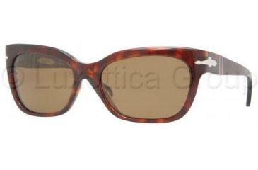 Persol PO2963S Sunglasses 24/57-5617 - Havana Crystal Brown Polarized