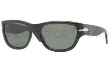Persol PO2967S Sunglasses 95/58-5519 - Black Crystal Green Polarized