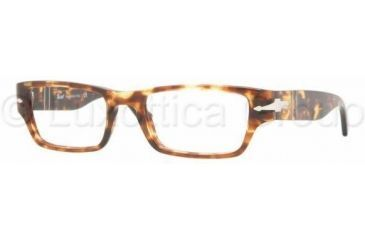 Persol PO2971V Bifocal Prescription Eyeglasses 919-5219 - Spotted Dark Havana