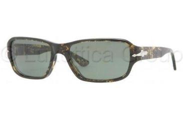 Persol PO2976S Progressive Prescription Sunglasses PO2976S-920-31-5617 - Lens Diameter: 56 mm, Frame Color: Spotted Green