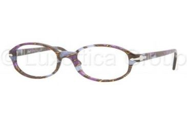 Persol PO2980V Bifocal Prescription Eyeglasses 916-5318 - Mosaic Violet-blue