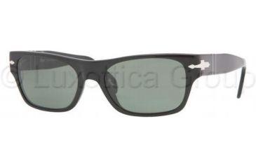 Persol PO2993S Sunglasses 95/31-5418 - Black Crystal Green