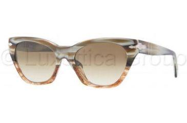 Persol PO2998S Single Vision Prescription Sunglasses PO2998S-940-51-5017 - Lens Diameter: 50 mm
