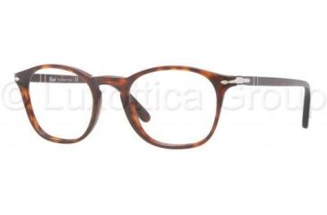 Persol PO3007V Single Vision Prescription Eyewear 24-5019 - Havana