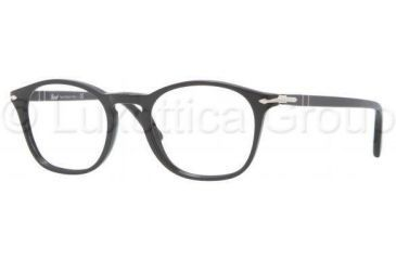 Persol PO3007V Single Vision Prescription Eyewear 95-4819 - Black