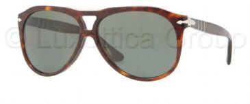 Persol PO3008S Bifocal Prescription Sunglasses PO3008S-24-31-5812 - Lens Diameter 58 mm, Frame Color Havana