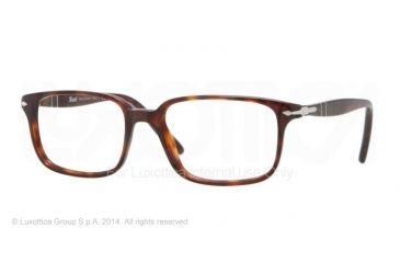 Persol PO3013V Bifocal Prescription Eyeglasses 24-53 - Havana Frame