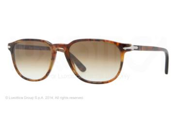 Persol PO3019S Prescription Sunglasses PO3019S-108-51-52 - Lens Diameter 52 mm, Frame Color Caffe'