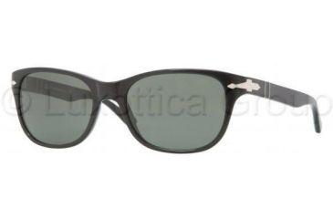 Persol PO3020S Progressive Prescription Sunglasses PO3020S-95-31-5418 - Lens Diameter 54 mm, Frame Color Black