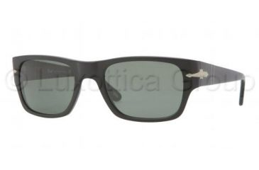 Persol PO3021S Bifocal Prescription Sunglasses PO3021S-900-31-5320 - Lens Diameter 53 mm, Frame Color Sand Black