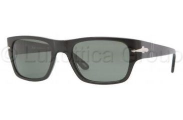 Persol PO3021S Bifocal Prescription Sunglasses PO3021S-95-31-5320 - Frame Color Black, Lens Diameter 53 mm