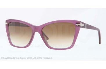 Persol PO3023S Prescription Sunglasses PO3023S-900251-56 - Lens Diameter 56 mm, Frame Color Violet