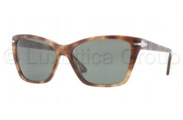 Persol PO3023S Progressive Prescription Sunglasses PO3023S-979-31-5616 - Lens Diameter 56 mm, Frame Color Spotted Green