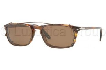Persol PO3031 Progressive Prescription Eyeglasses 108-5117 - Light Havana Frame