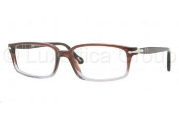 Persol PO3032V Bifocal Prescription Eyeglasses 908-5317 - Silver Frame