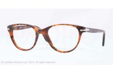 Persol PO3036V Bifocal Prescription Eyeglasses 108-48 - Caffe' Frame