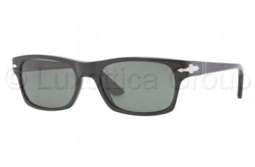 Persol PO3037S Progressive Prescription Sunglasses PO3037S-95-31-5418 - Lens Diameter 54 mm, Frame Color Black