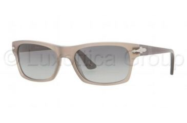 Persol PO3037S Progressive Prescription Sunglasses PO3037S-977-71-5418 - Lens Diameter 54 mm, Frame Color Matte Beige