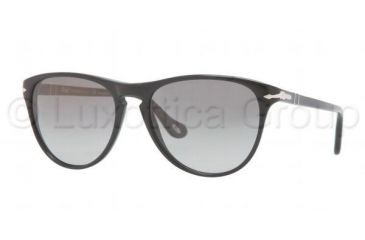 Persol PO3038S Sunglasses 95/M3-5216 - Black Frame, Polarized Gray Gradient Lenses