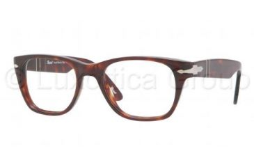 Persol PO3039V Single Vision Prescription Eyeglasses 24-5019 - Havana Frame
