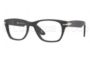 Persol PO3039V Single Vision Prescription Eyeglasses 900-5019 - Matte Black Frame